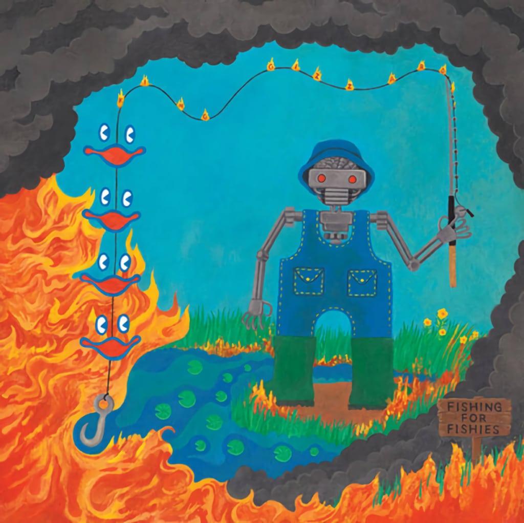 King Gizzard & the Lizard Wizard - Fishing for Fishiesalbum cover