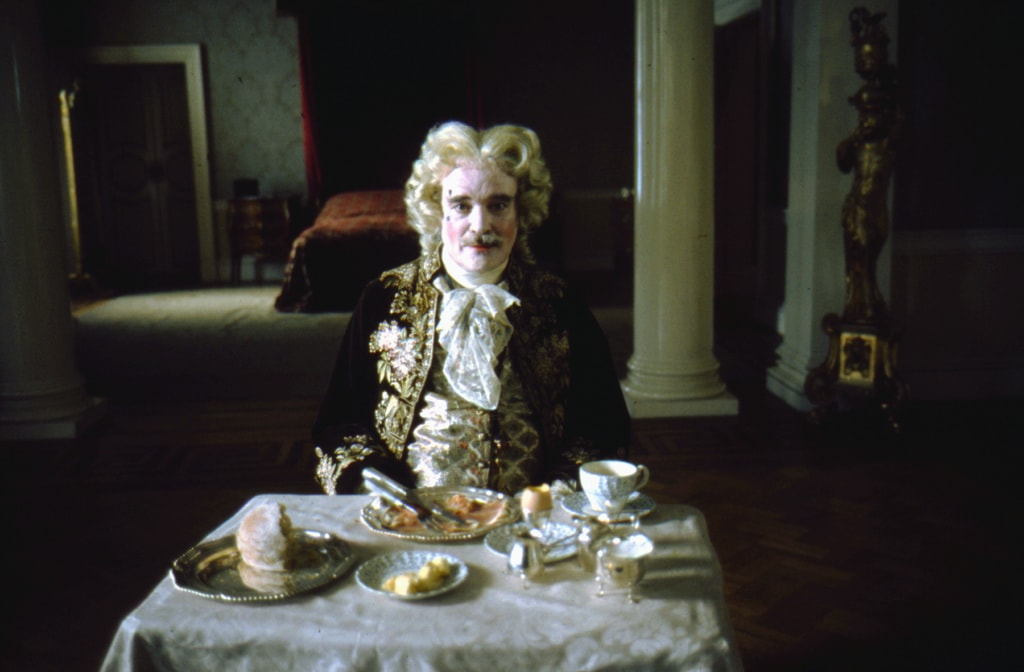 Barry Lyndon, directed by Stanley Kubrick (1973-75; GB/United States).The Chevalier de Balibari (James Magee).© Warner Bros. Entertainment Inc.