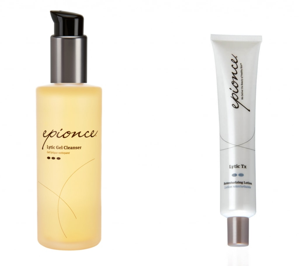 The Epionce Facial Cleanser and Lytec X