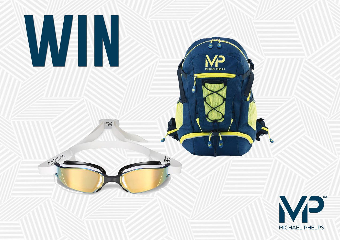 Win Pair Of Xceed Swim Goggles And Mp Backpack 187 The Malestrom