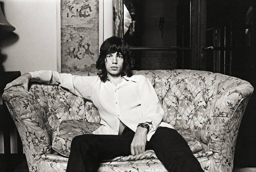 'Mick Jagger', 1972. Proud Galleries © Norman Seeff