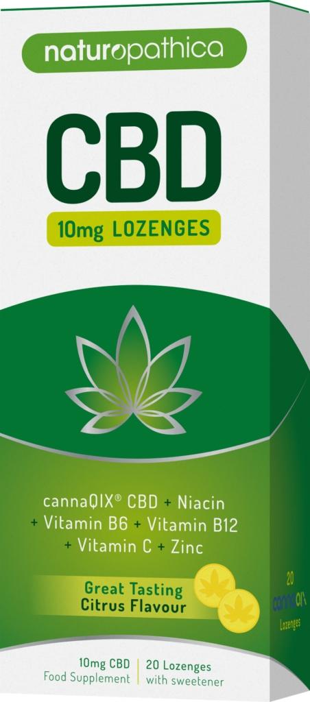Naturopathica CBD lozenges