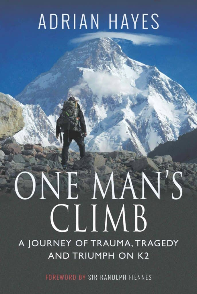 One Man's Climb by Adrian Hayes