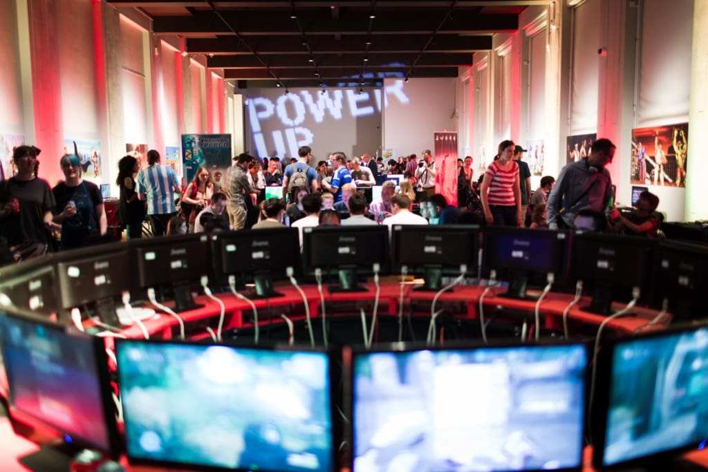 A shot of Power Up exhibition at the Science Museum taken by Benjamin Ealovega