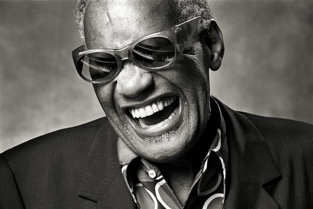 'Ray Classic', Ray Charles, 1985. Proud Galleries © Norman Seeff