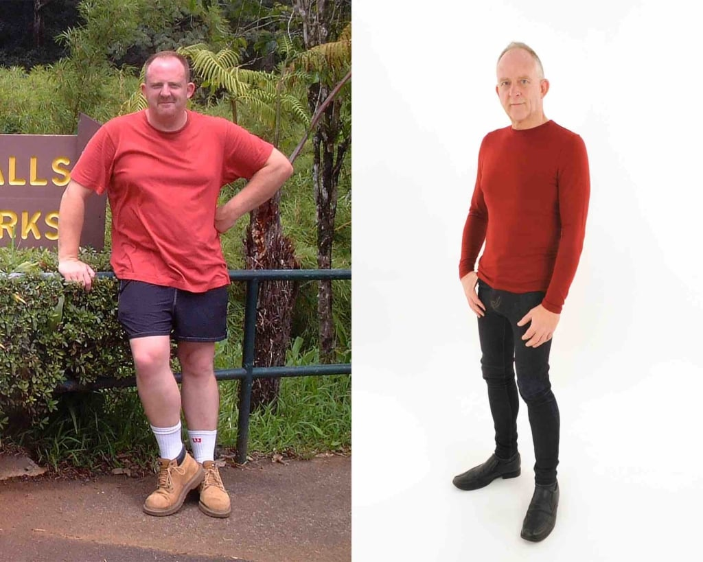 Richard Shaw Before and After