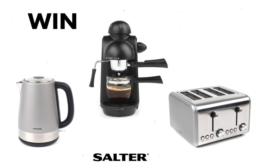 Salter breakfast bundle Malestrom competition