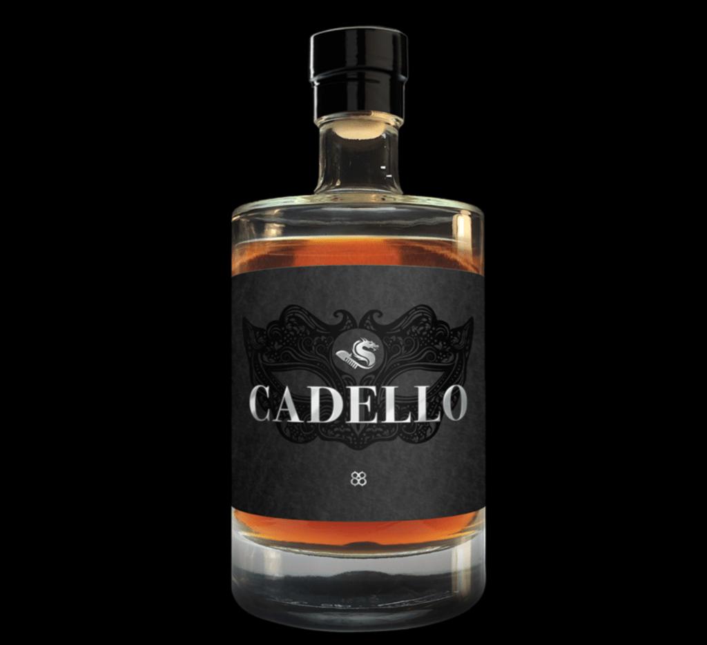 Bottle of cadello