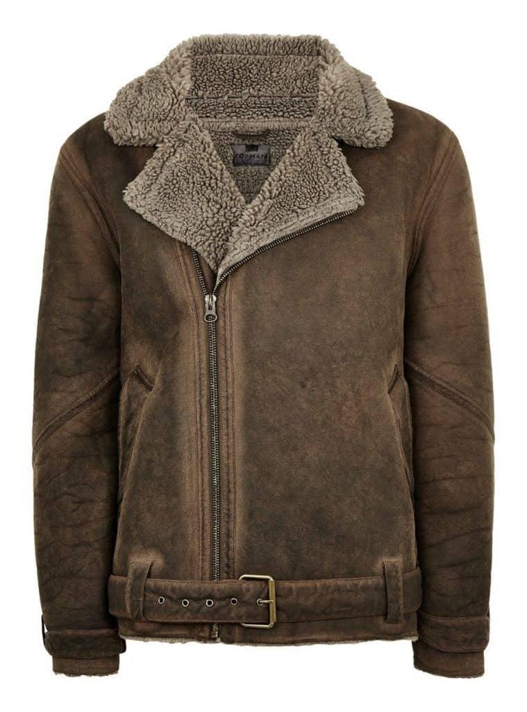 Shearling Jacket Top Man