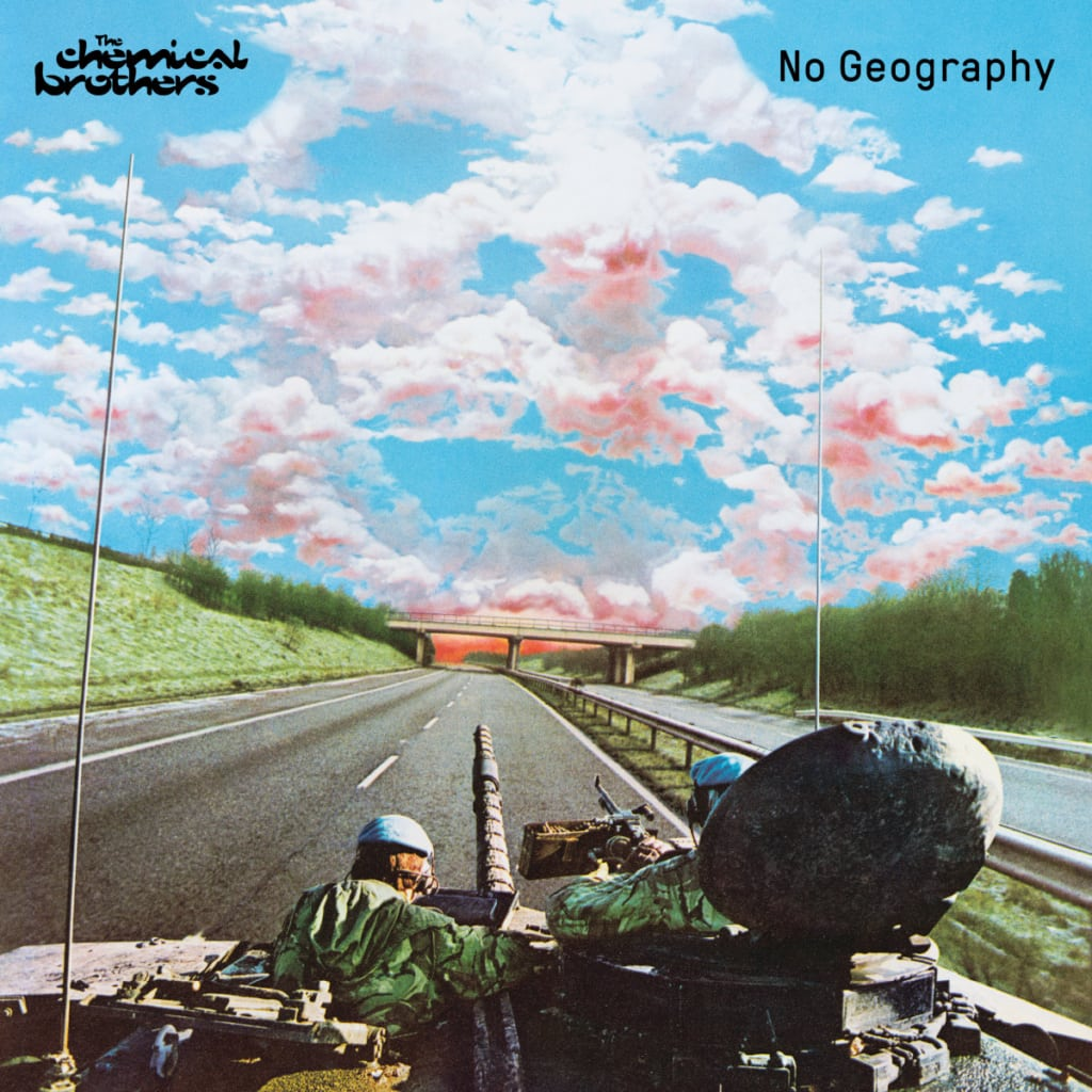 The Chemical Brothers No Geography album cover