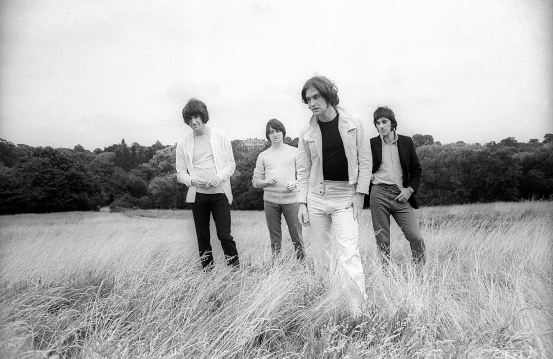 The Kinks on Hampstead Heath, London, 1968