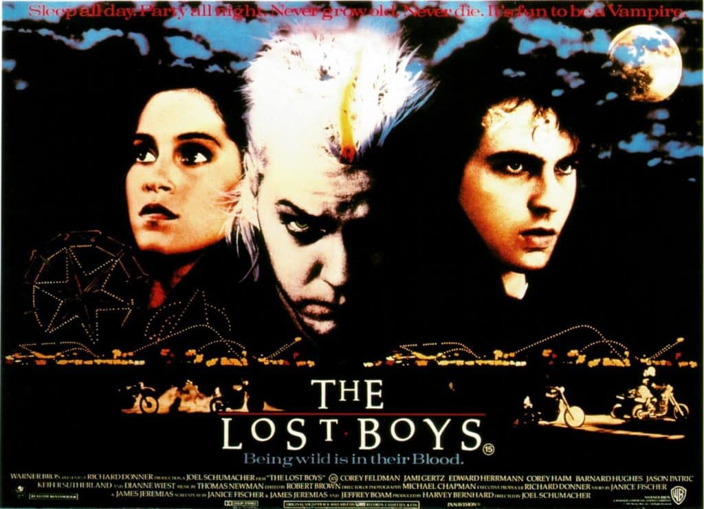 The Lost Boys - Theatrical Poster