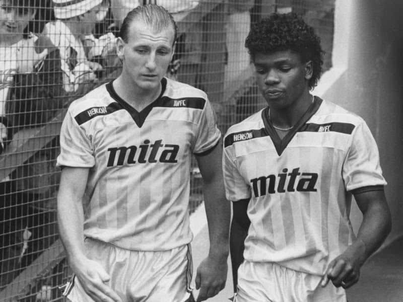 Footballers Steve Hunt & Tony Daley