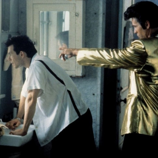Image from True Romance - Val Kilmer as Elvis