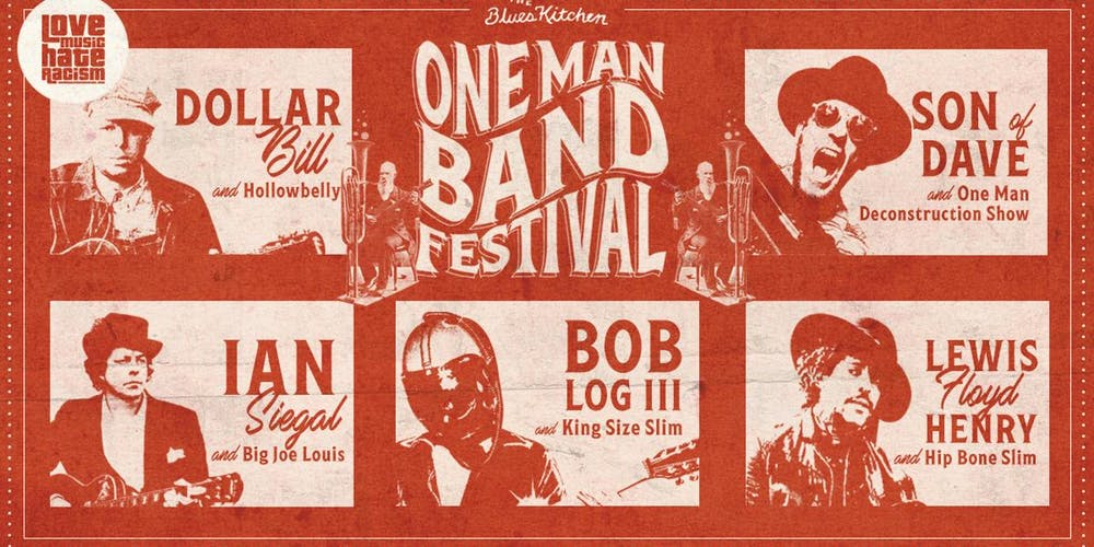 The One Man Band Festival poster