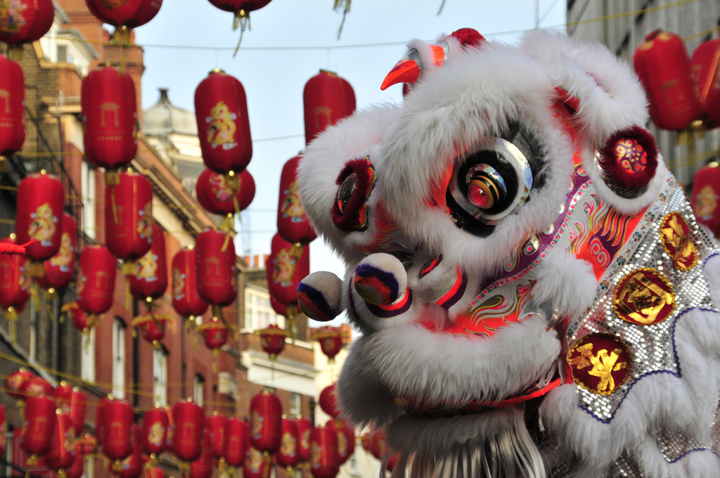 Chinese Year of the pig celebrations