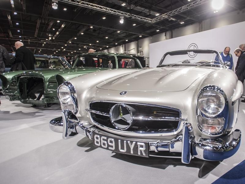 A classic BMW sports car