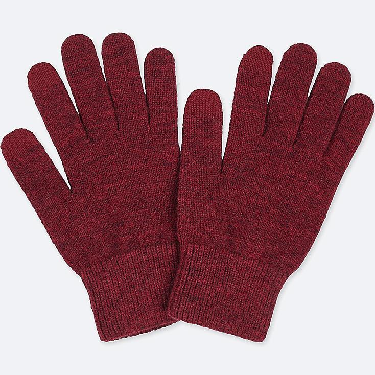 Heattech Knitted Touch Screen Gloves