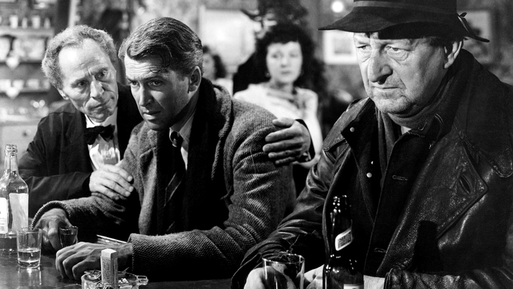 James Stewart in It's a Wonderful Life