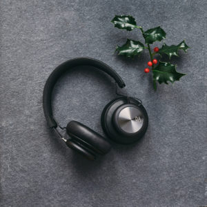 B&O headphones photographed for The MALESTROM's Christmas Tech gift guide