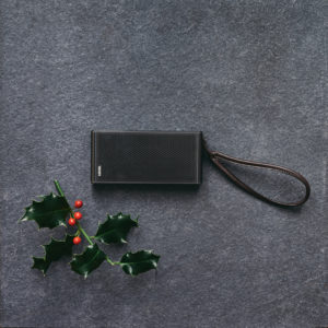 Loewe bluetooth speaker photographed for The MALESTROM's Christmas Tech gift guide