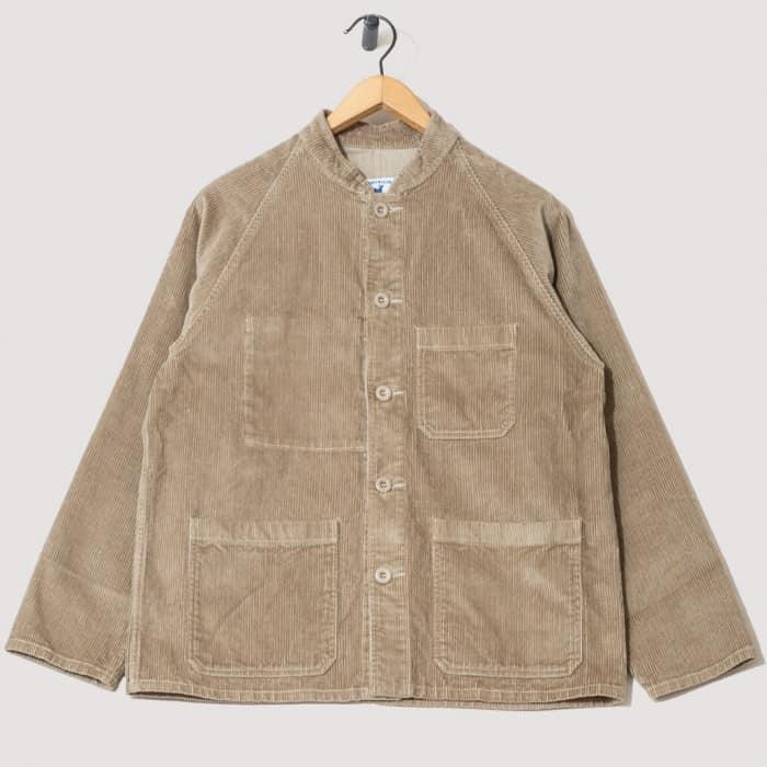 raglan heavy cord jacket beige from Peggs & Son