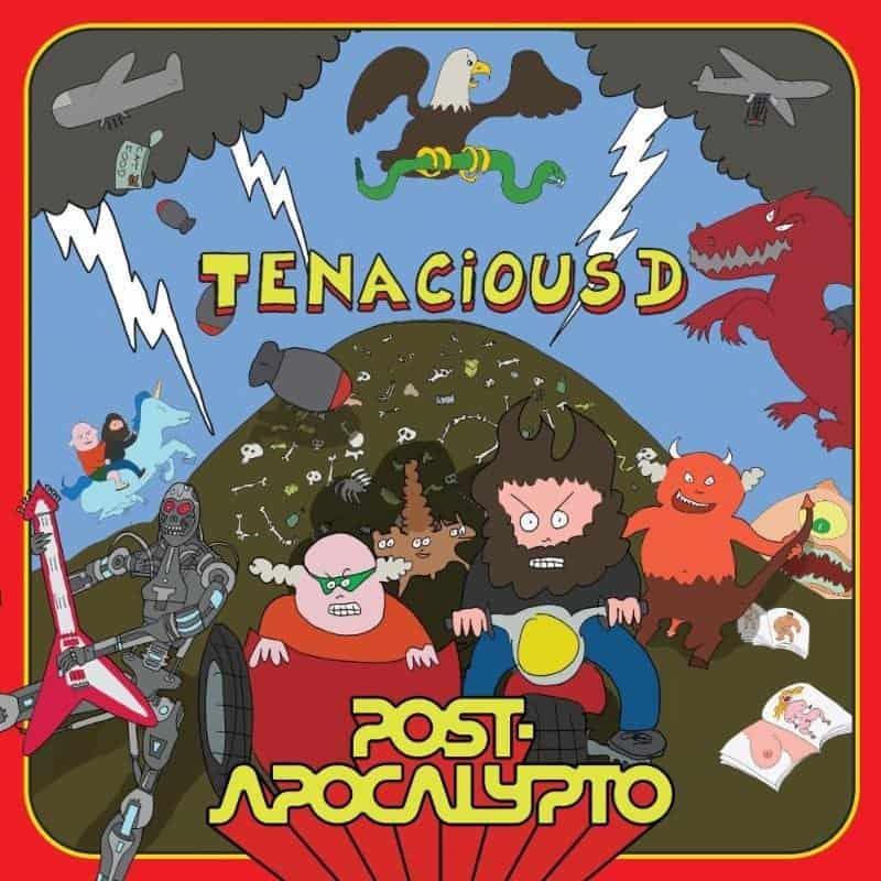 Cover for Tenacious D album Post Apocalypto