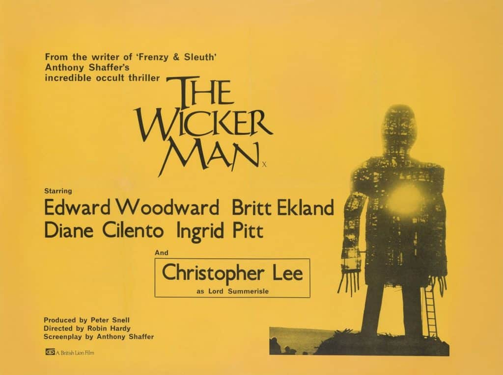 The Wicker Man UK Quad Poster 1973