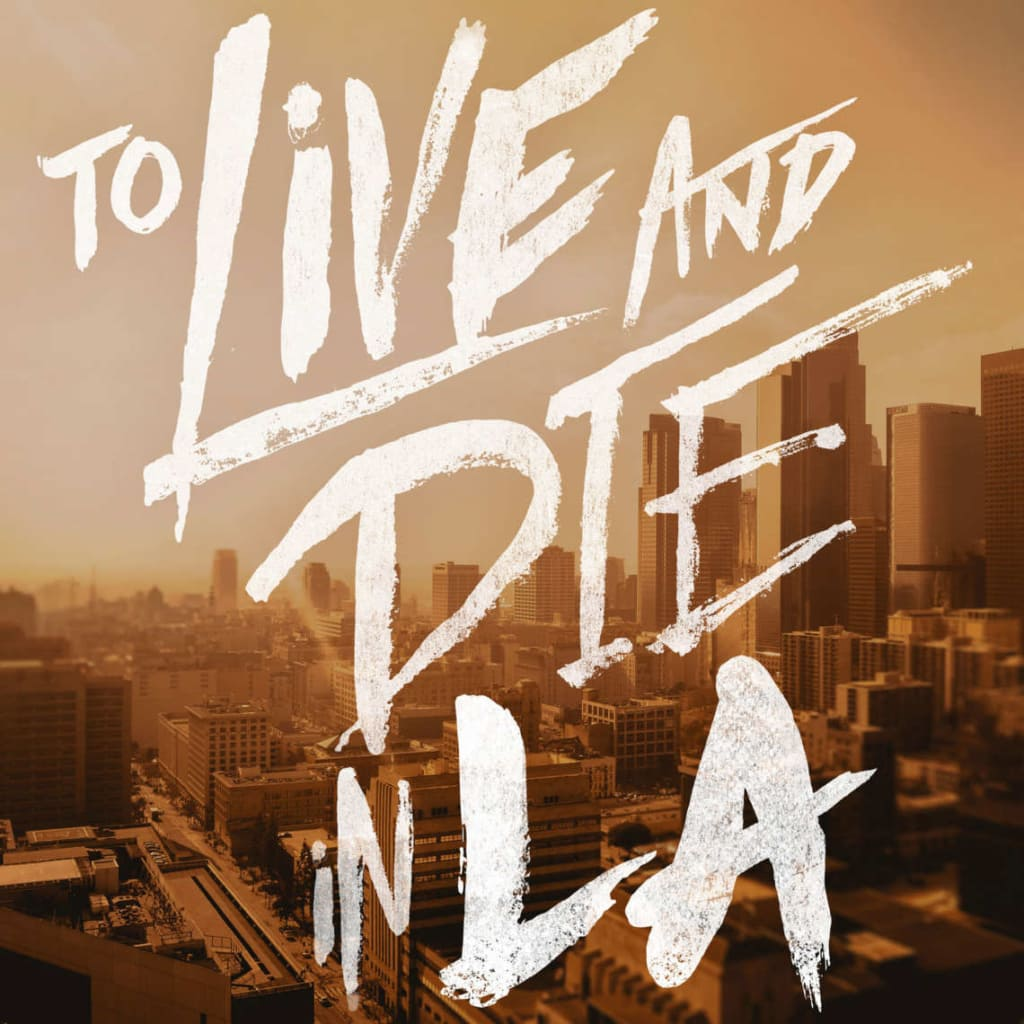 To Live and Die in LA poster