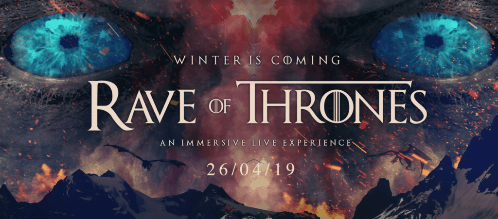 Poster for Rave of Thrones in Brixton